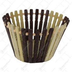 Cos servire din lemn 18x10 CM