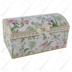 Cutie de bijuterii din carton Floral 20x12 CM