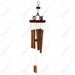 Clopotel de vant realizat din bambus 13x64 CM