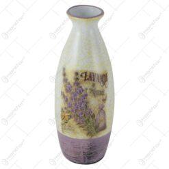 Vaza din ceramica 29 CM - Lavanda de Provence