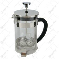 Presa Ceai/Cafea din sticla si inox