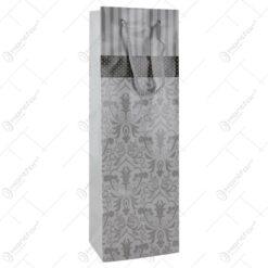 Punga cadou pentru bautura 12x36 - Design Elegant floral