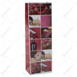 Punga cadou pentru bautura 12x36 - Design colaj vin