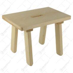 Scaunel din lemn pentru copii 30x21 CM