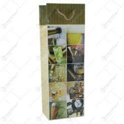 Punga cadou pentru bautura 12x36 - Design colaj bauturi
