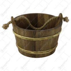Galeata pentru sauna din lemn 25x16 CM