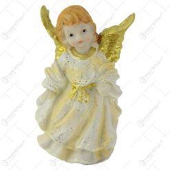 Figurina inger auriu din rasina 12 CM