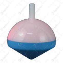 Titirez cu led din plastic 5 CM Rosu/Galben/Albastru - Se vinde 24 buc/bax