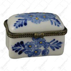 Cutie ceramica pentru bijuterii 6x4 CM