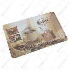 Tava pentru servire din plastic Coffee Shop 31x19 CM