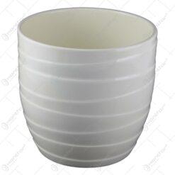 Ghiveci din ceramica Barletta Crem 18x20 CM