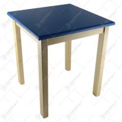 Masa pentru copii din lemn Rosu/Albastru 46x52 CM