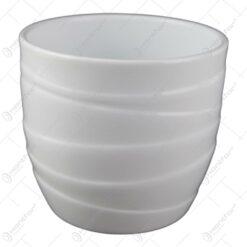 Ghiveci din ceramica Barletta Alb 13x12 CM
