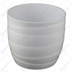 Ghiveci din ceramica Barletta Alb 14x13 CM