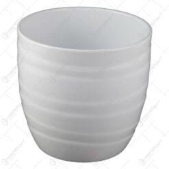 Ghiveci din ceramica Barletta Alb 15x15 CM