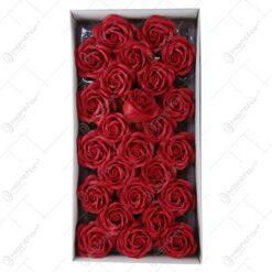 Trandafiri de sapun 25 bucata/cutie - Rosu
