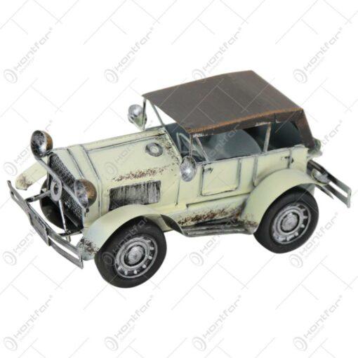 Macheta metalica masina retro 19 CM