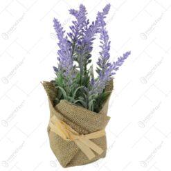 Floare artificiala decorativa Lavanda 22 CM