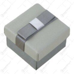 Cutie pentru bijuterii cu fundita 5 CM - se vinde 24buc/bax