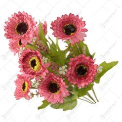 Buchet artificial din flori de primavara 45 CM