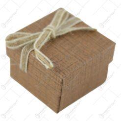 Cutie pentru bijuterii cu fundita 5 CM - se vinde 24 buc/bax