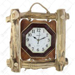 Ceas rustic pentru perete 40x40 CM