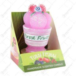 Lumanare parfumata Tutti Frutti 8 CM - Cocktail/Ice cream