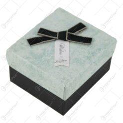Cutie pentru bijuterii cu fundita 9x8 CM - Se vinde 6 buc/bax