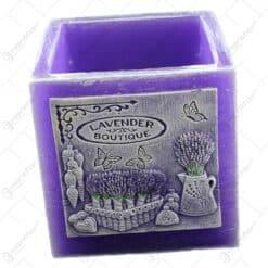Lumanare tip lampion - Design Lavender Boutique 12 CM