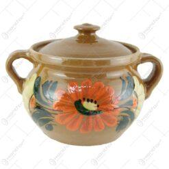 Oala din ceramica cu capac 1