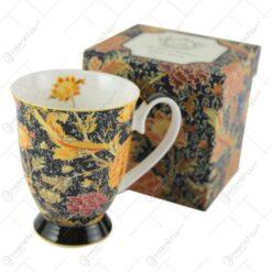 """Cana portelan 325 ml """"Cray Floral"""" de William Morris in cutie decorativa"""