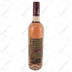 "Vin rose 0.75 ml cu eticheta din pluta ""Ha mar ennyi a korod...Boldog szuletesnapot"""