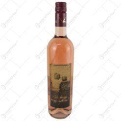 "Vin rose 0.75 ml cu eticheta din pluta ""Jo"
