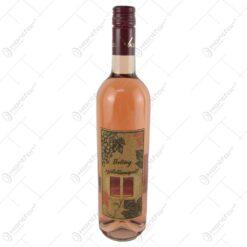 """Vin rose 0.75 ml cu eticheta din pluta """"Boldog szuletesnapot"""" - Fereastra/Struguri"""