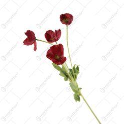 Floare de mac rosu