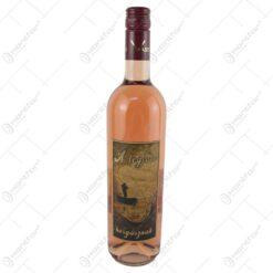 "Vin rose 0.75 ml cu eticheta din pluta "" A legjobb horgasznak"""