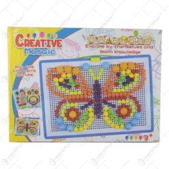 Joc educativ Mozaic din plastic Creative Mosaic