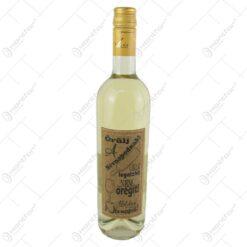 "Vin alb 0.75 ml cu eticheta din pluta ""Orulj a nevnapodnak"""