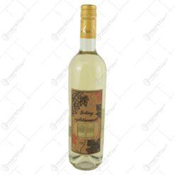 """Vin alb 0.75 ml cu eticheta din pluta """"Boldog szuletesnapot"""" - Fereastra/Struguri"""