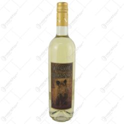 "Vin alb 0.75 ml cu eticheta din pluta "" A legjobb vadasznak"""