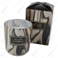 Lumanare parfumata White Marble/Black Marble