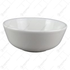 Bol salata din ceramica alba 200 ml