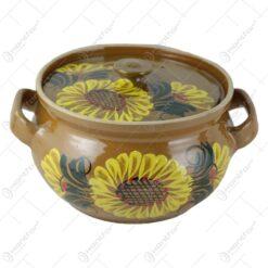 decorat cu floarea soarelui