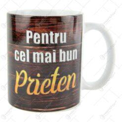 """Cana ceramica """"Pentru cel mai bun prieten"""" 10 CM"""