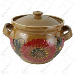 Oala din ceramica cu capac 4 L