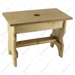 Scaunel din lemn pentru copii 38x28 CM