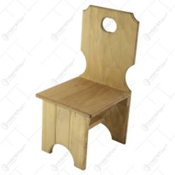 Scaun pentru copii din lemn 21x45 CM