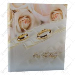 "Album foto 20 poze 22.5x28 CM ""Sweet Love/Our Wedding"""