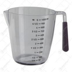 Cana gradata pentru masurare din plastic 1000 ml