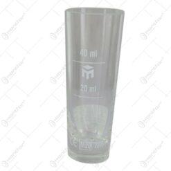 Pahar gradat din sticla 40 ml